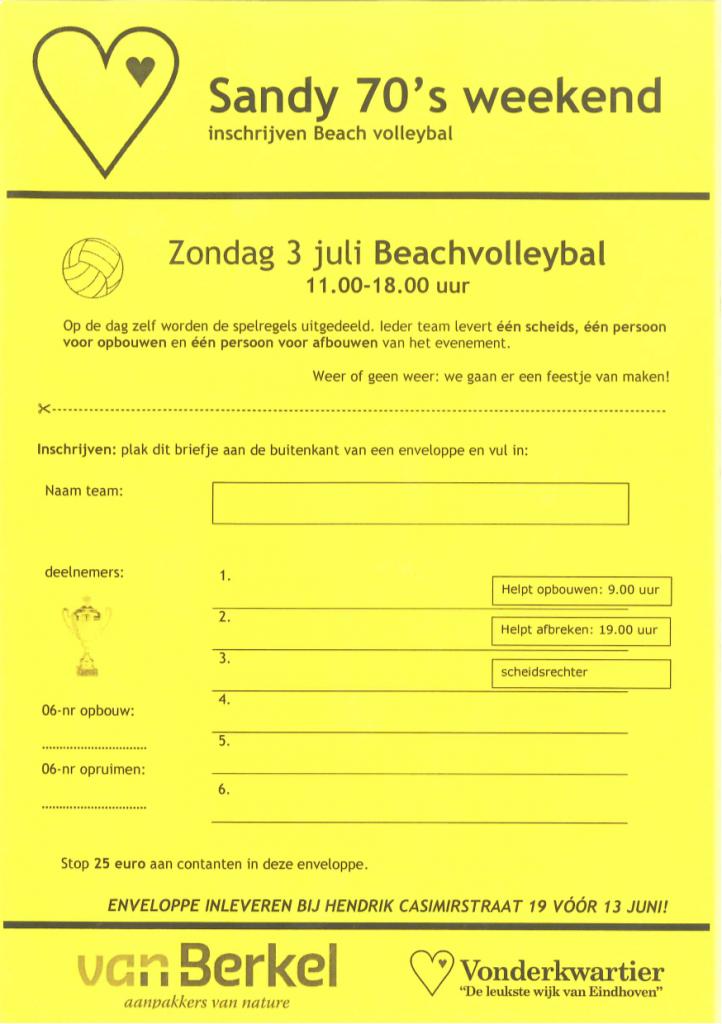 Beach-Volleyball-Inschrijving